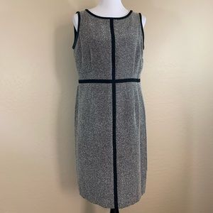 Jones Studio Separates Gray and Black Dress